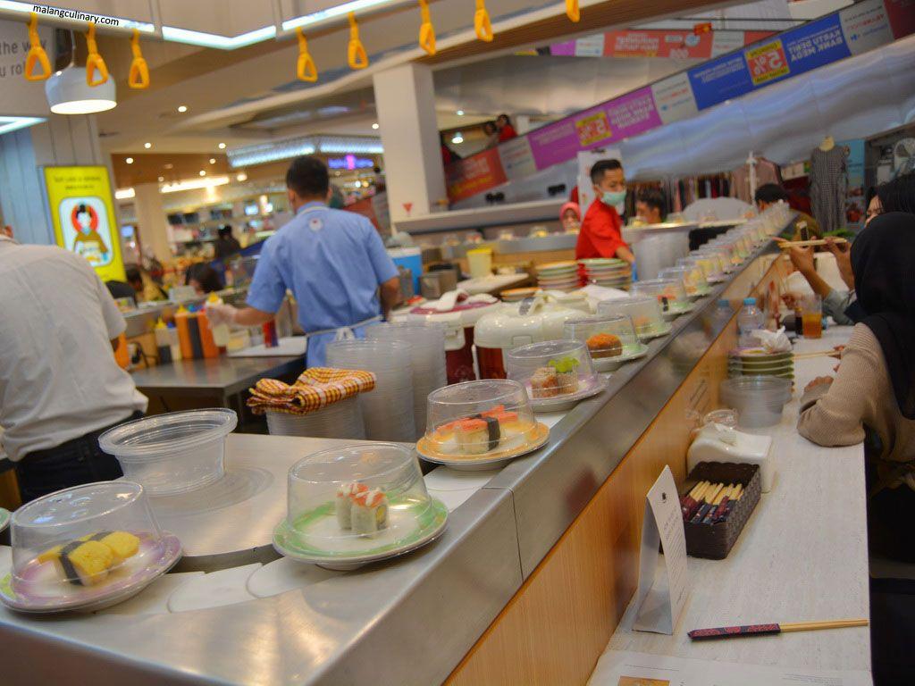 Sushi Station Malang Culinary Lounge Kalau gak percaya juga, langsung cobain aja, dolaners. sushi station malang culinary lounge